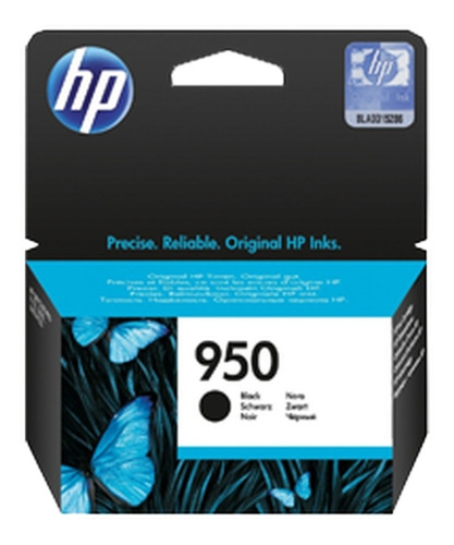 tinta original hp 950 negro 24 ml.