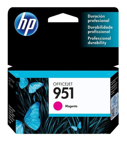 tinta original hp 951 magenta 8,5 ml