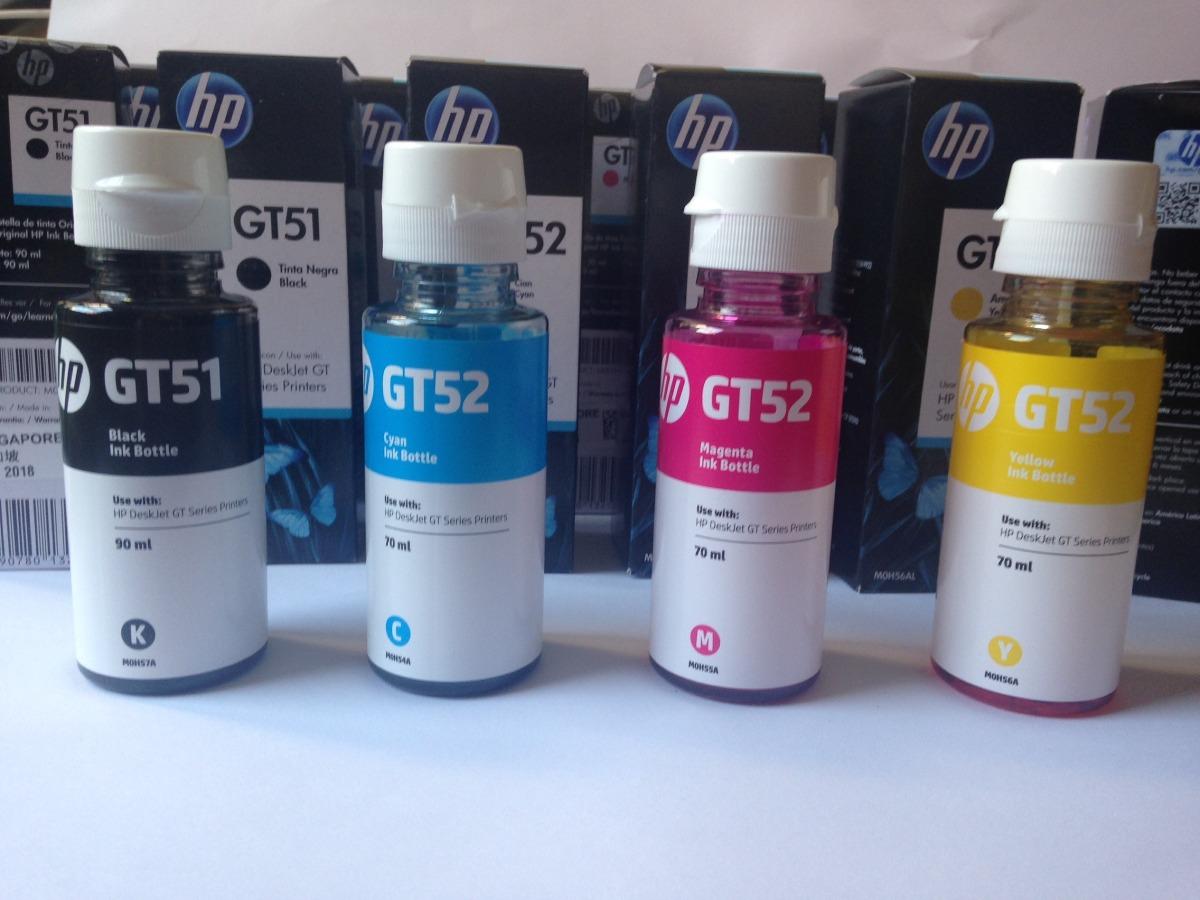 Hp Tinta Original Gt51 Black Gt52 Color Update Harga Terkini Dan M0h57a 90ml Refill Printer Deskjet Gt5810 Gt 5820 All In One Mutifuncional Gt5820azul Rojo O Am Cargando Zoom
