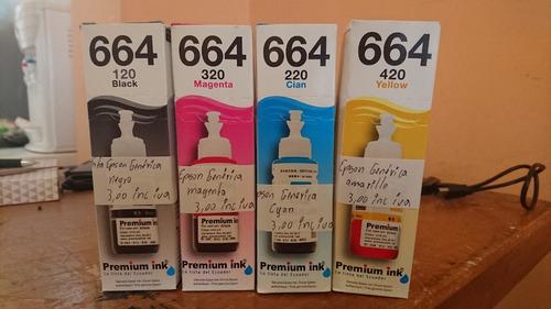 tinta original y alterna epson l200 l210 l355 l365 l555 l565