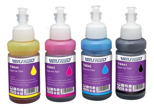 tinta para epson 70ml t664 l200 l110 l210 l355 l555 cada uno