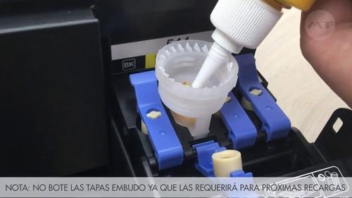 tinta para impresora epson l110 l200 l210 l355 l555 l800