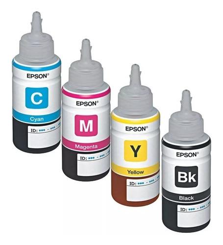 tinta para impresora y sistema continuo l380-l360-l555-l210