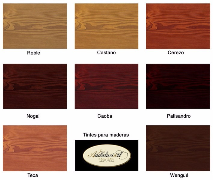 Tinta para madera multilac 1 lt colores varios bs 36 for Colores de muebles de madera