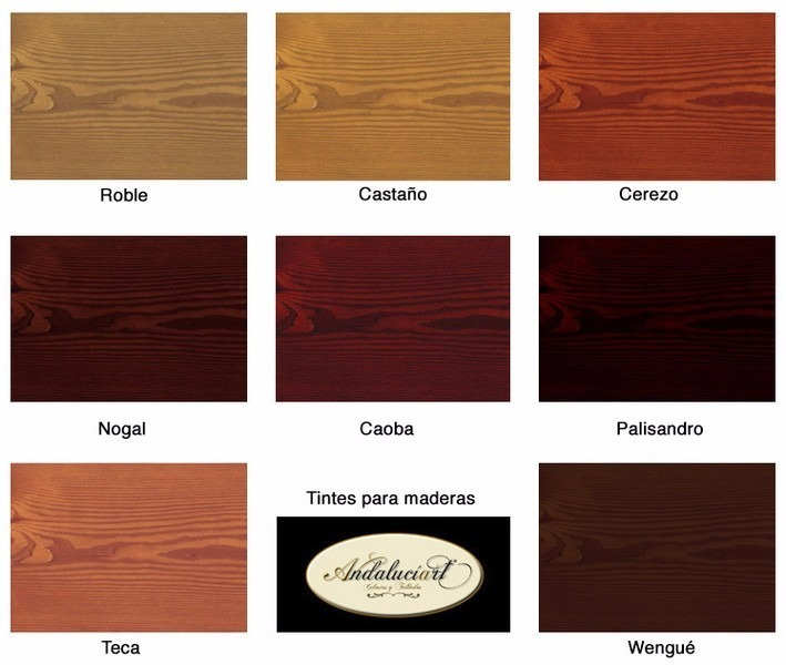 Tinta para madera multilac caoba nogal saman cerezo for Color nogal claro