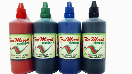 tinta para marcador borrable gotero 120 ml