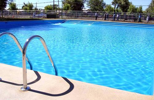 tinta para piscina azul pu kit maza 4,5 litros