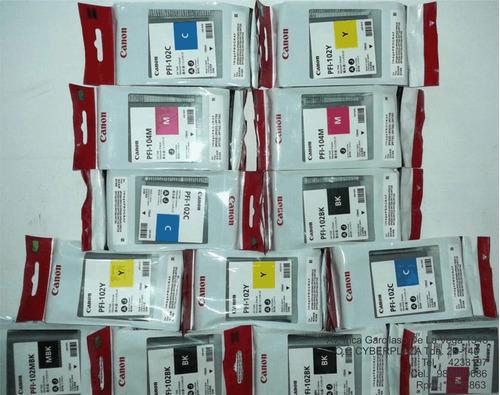 tinta para plotter ipf 710, 750,  cabezales, plotter ipf 750
