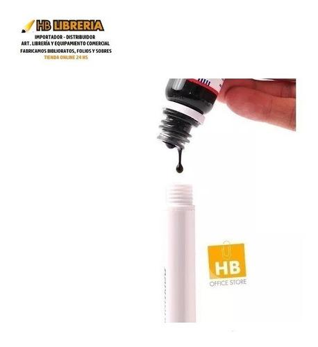 tinta para recarga marcadores de pizarra blanca 30ml trabi