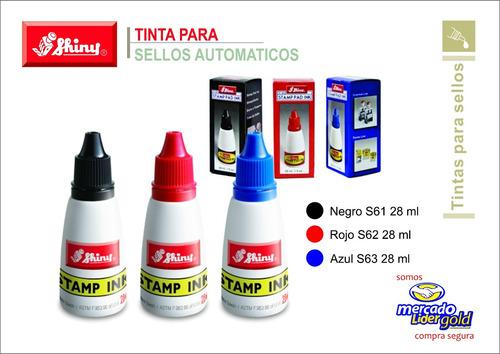 tinta para sellos y fechadores automaticos