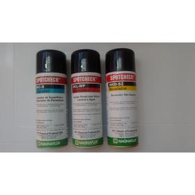 Tinta Penetrante Agua, Limpiador, Revelador Magnaflux (kit)