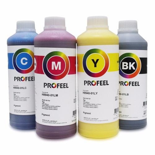 tinta pigmentada profeel para pro 7612 7610 7110 -4 litro
