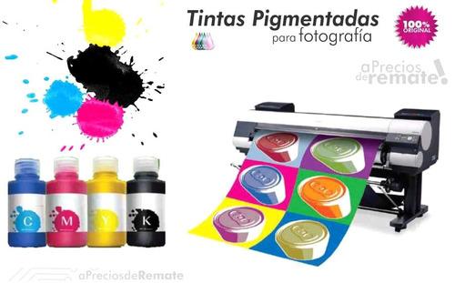 tinta pigmentada y de sublimación de 100 ml