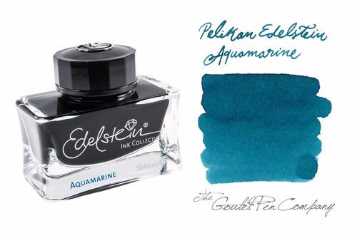 tinta pluma fuente pelikan edelstein - 50 ml - aquamarine