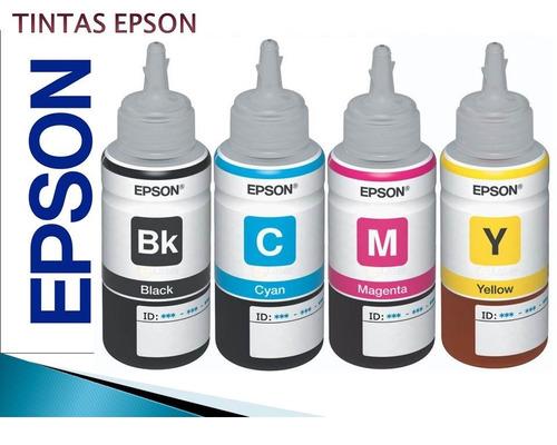 tinta premium para epson negro y color 60cc