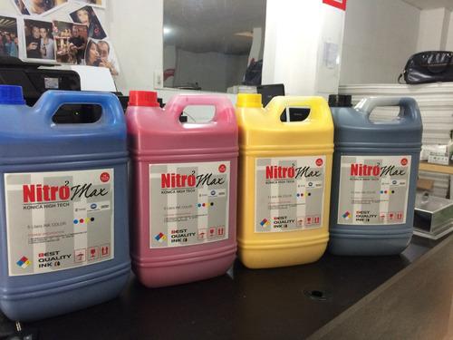 tinta solvente konica - ecosolventes dx5-dx7