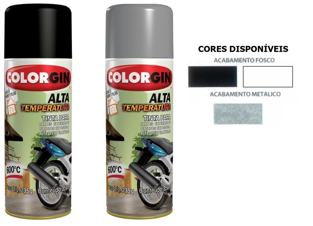 Tinta spray aluminio alta temperatura 600 r 30 95 em - Pintura para aluminio en spray ...