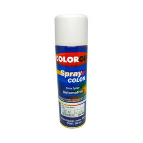 Tinta Spray Automotiva Colorgin Branco Brilhante 300ml