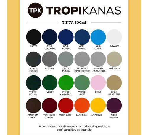 tinta spray colorart cinza placa uso geral carro moto tpk