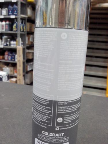tinta spray cromada metalico colorart uso geral automotivo