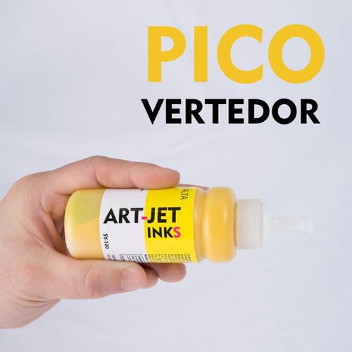 tinta sublimación profesional art-jet® combo 400ml