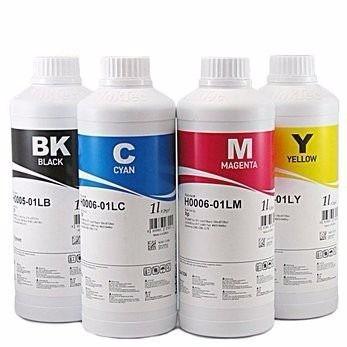 tinta sublimática 2 litros, 500ml de cada cor, importada