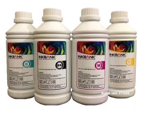 tinta sublimatica epson kit 4 cores 400ml + perfil cores icc