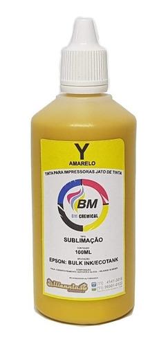 tinta sublimatica para epson bm chemical 100ml