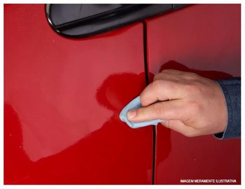 tinta tira risco automotivo volkswagen up cor vermelho flash