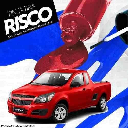 Tinta Tira Risco Chevrolet Montana Vermelho Chilli Tmc - R  13,70 em ... e2b768c993