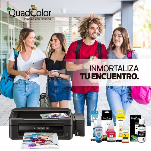 tinta universal 1 litro hp/epson/canon recargas 100% calidad