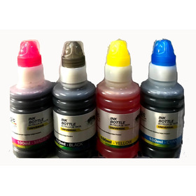 Tinta Universal 100 Ml Botella Pack 4 Colores
