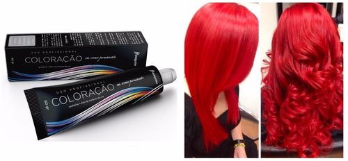 tinta vermelho intensificador mairibel/hidraty tinta cabelo