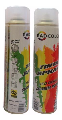 tinta verniz acrilico spray