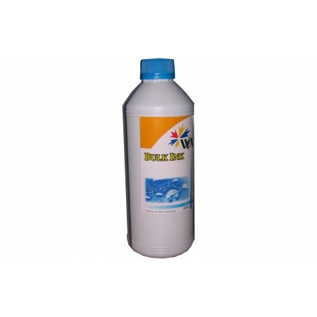 tinta wox a granel 1 litro color cyan