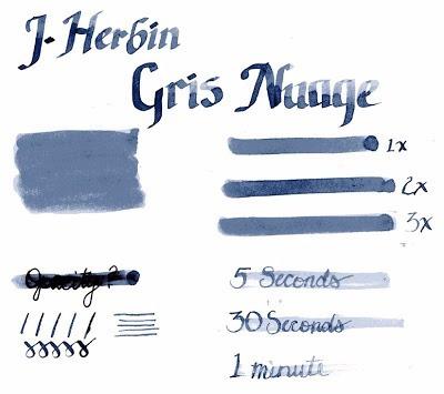 tinta x2 pluma fuente - edelstein j.herbin