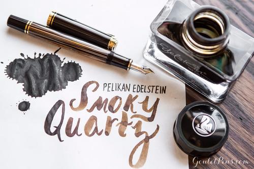 tinta x2 pluma fuente edelstein smoky jb