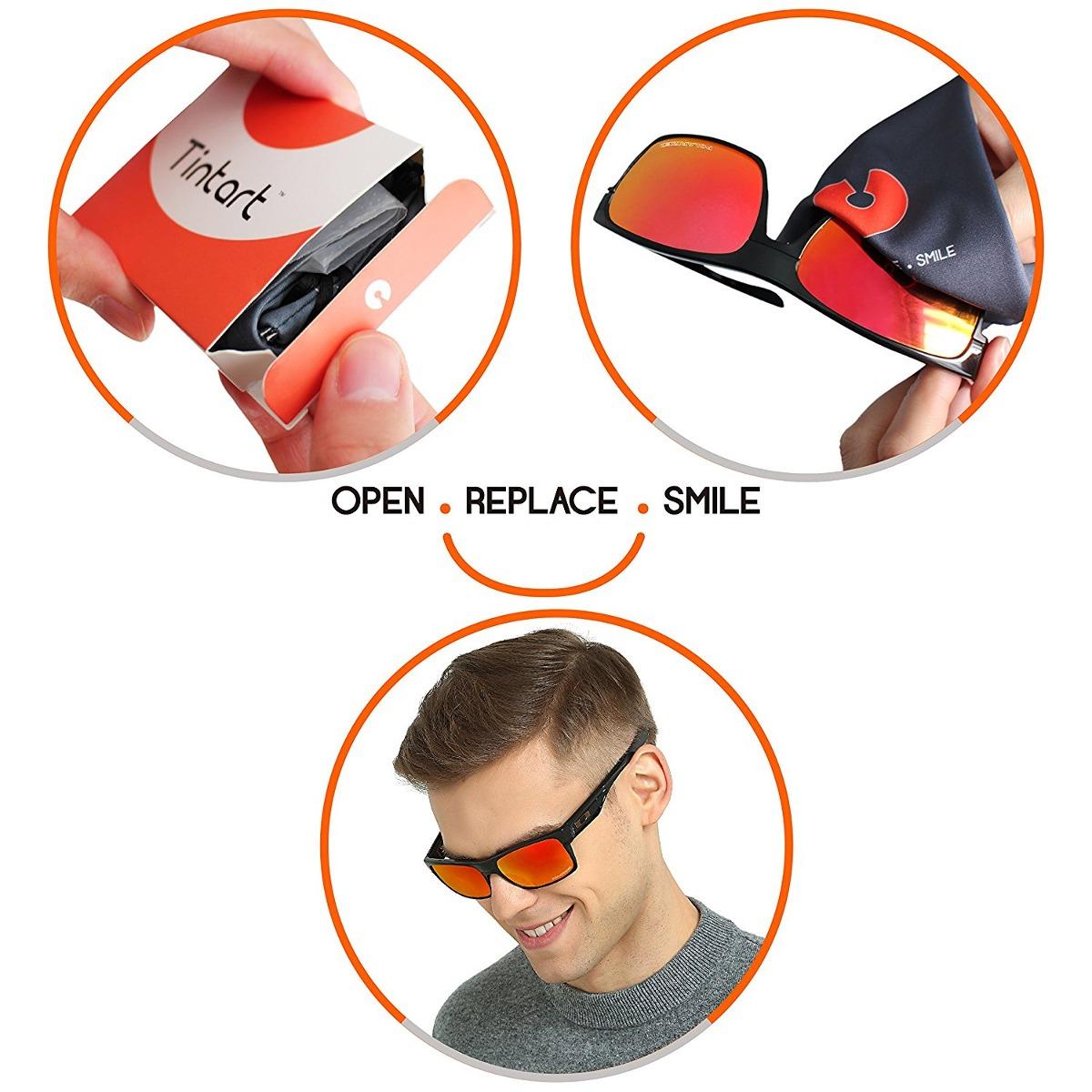Tintart Lentes De Repuesto Rendimiento Oakley Flak Jacket Po ...