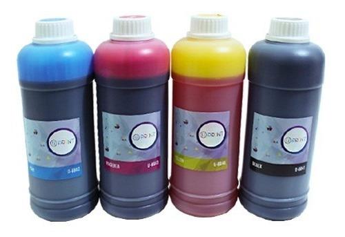 tintas 1 litro epson hp u-print para recarga garantizadas sa