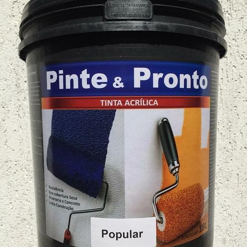 tintas acrílicas 18 litros e complementos de qualidade!
