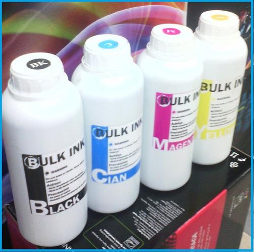 tintas bulk ink hp  y epson - canon 1 litro