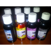 Tinta 100ml Para Recargar Cartuchos O Sistemas Hp Full Color