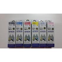 Tinta Epson Original100%t673220 L800 70ml Selladas Al Vacio