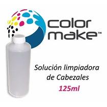 Solucion Liquido Limpia Cabezales Color Make 125cc Limpiador