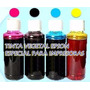Tinta Vegetal-hoja Arroz Para Impresora Epson Envase 100 Ml