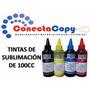 Tinta De Sublimacion Para Impresoras Epson120cc Alta Calidad