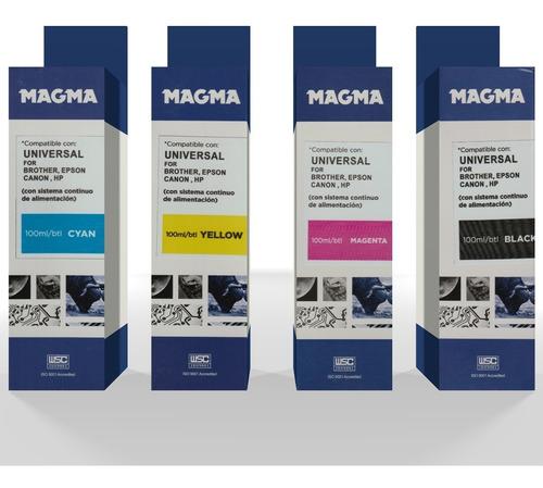 tintas compatible magma para todos los modelos de impresoras