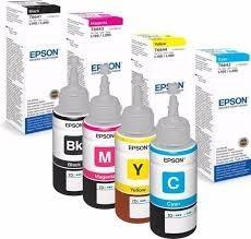 tintas de botellas originales refill para epson 70ml