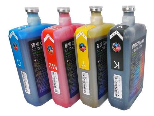 tintas de impresion eco solventes galaxy dx4,dx5,dx7