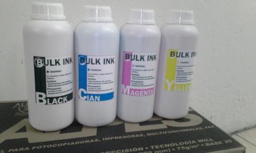 tintas de litro bulk ink gran oferta!